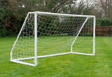 8ft Soccer Goal Outdoor Training Equipment All Weather Polyester Mesh Net
