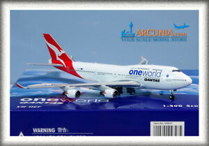 "Phoenix 1:400 Qantas Boeing 747-400 ""One World - VH-OEF"" 4347"