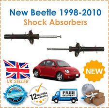 For VW New Beetle 1998-2010 2 Front Shock Absorbers Set Shockers Dampers Pair
