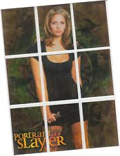 "Buffy Vampire Slayer Reflections - 9 Card ""Portraits Of A Slayer"" Chase Set S1-9"
