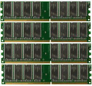 4GB (4x 1GB) Desktop Ram Memory Dell Optiplex GX270