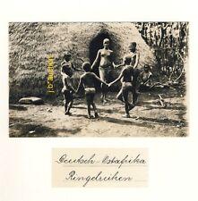 DOA * NACKTE AFRIKANERIN *Vintage 20s Ethnic Nude Photo PC JOSEF STEINLEHNER #11
