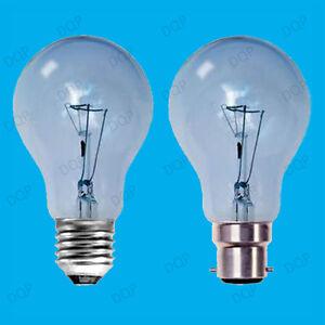 4x 100W Natural Daylight Simulation GLS Bulbs SAD Light Therapy Lamp B22 E27