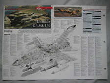Cutaway Key Drawing of the Panavia Tornado GR.Mk 4