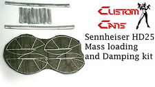 Custom cans Sennheiser HD25 Mass loading and damping kit bass and detail mod