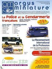 Argus de la Miniature, Gendarmerie et Police Française