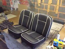 MGB/C 62-68 Paire siège en cuir couvre