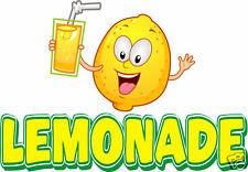 "Lemonade Concession Food Truck Van Decal 14"" Vinyl Menu Food Sign"