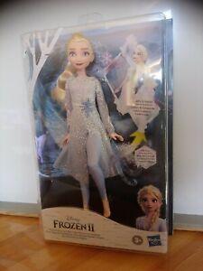 Poupée Elsa sons et lumières découverte magique Disney Frozen ll Hasbro