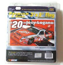 New Joey Logano 2009 Home Depot 2-Sided 3' X 5' Heavy Duty Flag