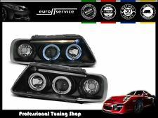 FARI ANTERIORI HEADLIGHTS LPAU17 AUDI A3 1996 1997 1998 1999 2000 ANGEL EYES