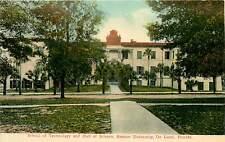 Florida, FL, De Land, Stetson Univ, School of Technology 1908 Postcard