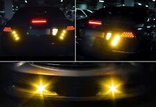 10X 10W 24V 23mm Truck LED Eagle Eye Light DRL Daylight Park Tail Light Yellow