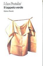 "Il tappeto verde.  Pratolini, Vasco 1"" Ed. Collana I David Riuniti, Roma (1981)"