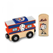 MLB New York Mets Wood Train Caboose Toy Train MLB Edition
