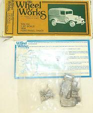 Ford Panel Truck 1934 Rebuilt Kit the Wheel Works Ww-102 H0 1:87