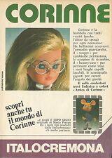 X4714 CORINNE - TOPO GIGIO - Italocremona - Pubblicità 1975 - Advertising