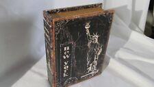 New York Book Storage  box Jewlery Gun Watch Cubby~Womans/Mens Home Decor ~~