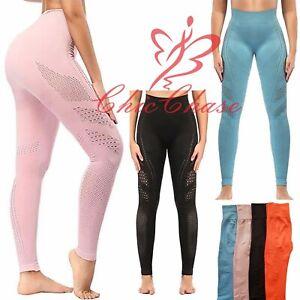 UK Women's Gym Flawless Leggings Sportswear Yoga Pants Running Training Fitness