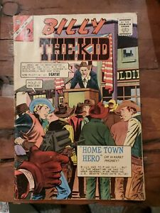 BILLY THE KID #16 1964 CHARLTON SILVER AGE WESTERN COMIC VG