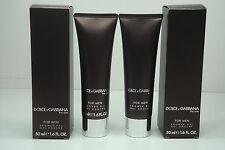 2x Dolce & Gabbana THE ONE for Men Shower Gel / Body Wash 1.6oz / 50ml EACH  NIB