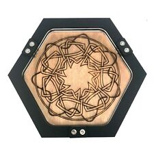 Mini Celtic Knot Design Dice Tray, Personal Sized, Gaming ~ by C4Labs
