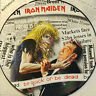 "Iron Maiden ‎– Be Quick Or Be Dead - 12"" single Picture Disc 12EMPD 229 complete"