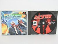 RAY STORM raystorm Shooting PS1 Playstation JAPAN Game p1