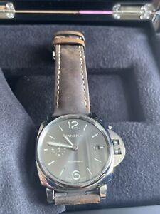 Panerai Luminor Due Gray Men's Watch - PAM00904