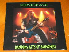 STEVE BLAZE - Random Acts Of Blindness 14 Track DJ PROMO Acetate CD! lillian axe