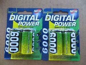 "Minelab SDC 2300 Metal Detector Replacement ""C"" Batteries - 1.2 volt 6000mAh"