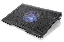 "ThermalTake Massive SP Black Notebook Cooler 10 to 17"", 140mm Fan, Speakers"