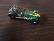 Matchbox Caterham Superlight R500 Green Body English Sports Car Toy Model 63mm
