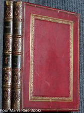 "Gustave Dore London A Pilgrimage full Morocco Ct 2 Vols, 15"" Illustrated England"