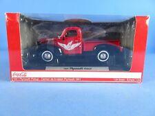 1941 PLYMOUTH PICKUP RED /BLACK 1:24 PREMIUM DIECAST MOTOR MAX NEW B2