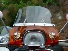 Vespa SS180 Flyscreen Special Small Batch Remade in Transparent Orange