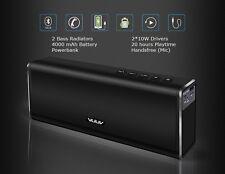 VUUV BASS BOMB Wireless Bluetooth Stereo Speaker 20W Power Bank Subwoofer
