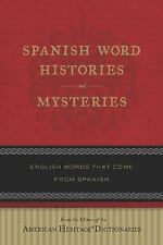 Spanish Word Histories and Mysteries: En