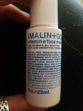 Malin + Goetz Vitamina E Face Crema Hidratante Viaje Tamaño 29ml nuevo sin abrir.