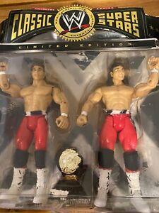 THE ROCKERS SHAWN MICHAELS & MARTY JANETT JAKKS Pacific WWE 2 Pack Figures