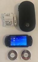 Sony PSP  [PSP-1001] Handheld System Bundle 2 Games, Case, & Charger - GTA