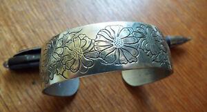Western style Cuff Bracelet by Stieff Silversmiths