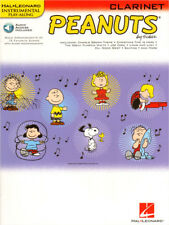 Peanuts Play-Along Clarinet Klarinette Noten mit Download Code
