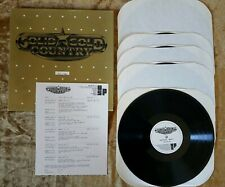 Solid Gold Country United Radio Station Augus 18, 86 Johnny Cash, Elvis Presley