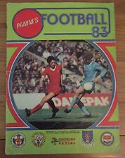 Panini Football 83 1983 Complete Excellent Condition