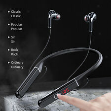 Bluetooth Headphones Wireless Neckband with Mic Wireless 100Hrs Playtime