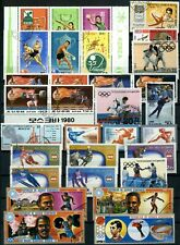 Sports, Olympics Thematics Page Full Of Stamps #W1040