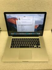 """MacBook Pro 15"""" A1286 Mid 2009 C2D 2.66GHz 6GB 250GB Battery 734 Cycles 30DAYWTY"""