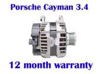 Porsche Cayman 3.4 Coupe 2013 2014 2015 2016 brand new alternator