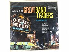 *SEALED* MONO LP PROMENADE/DIPLOMAT records 2231.. SALUTE TO GREAT BAND LEADERS